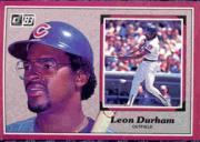 1983 Donruss Action All-Stars #55 Leon Durham