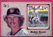 1983 Donruss Action All-Stars #56 Robin Yount