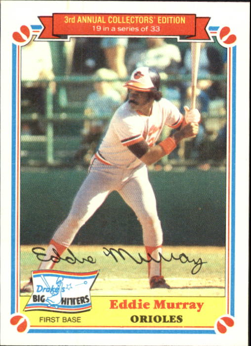1983 Drake's #19 Eddie Murray