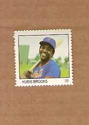 1983 Fleer Stamps #23 Hubie Brooks