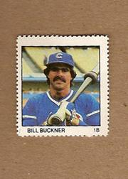 1983 Fleer Stamps #25 Bill Buckner