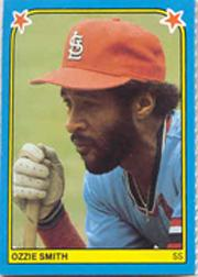 1983 Fleer Stickers #10 Ozzie Smith