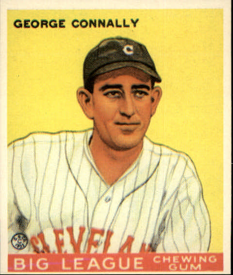 1983 Galasso '33 Goudey Reprint #27 George Connally
