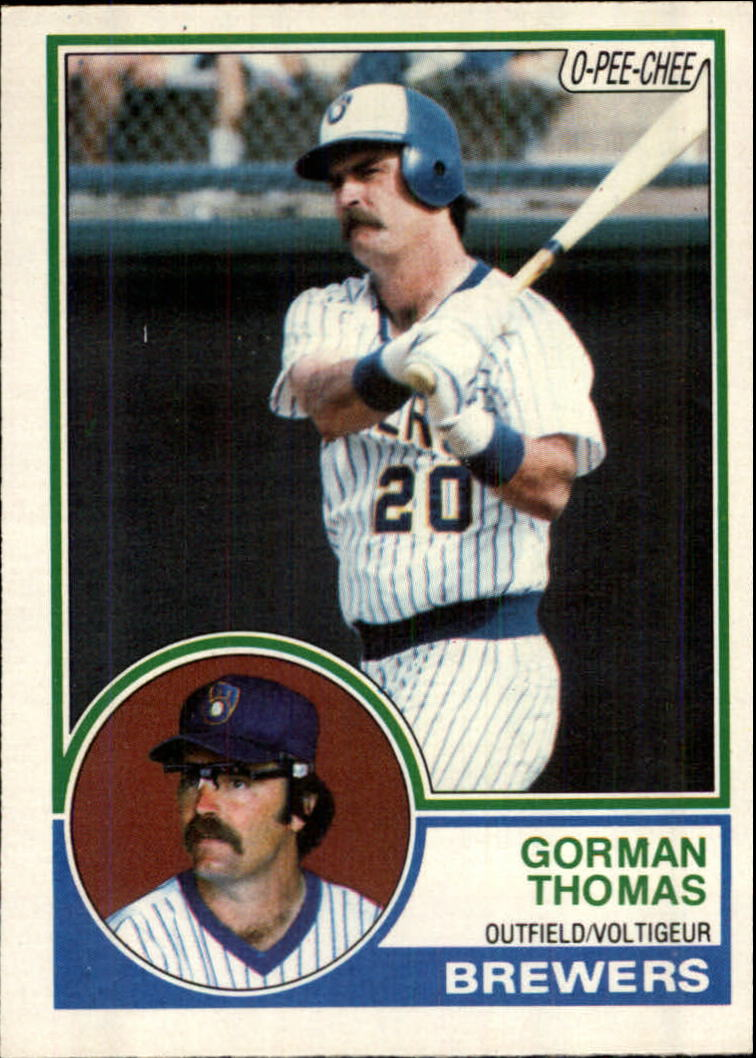 1983 O-Pee-Chee #10 Gorman Thomas