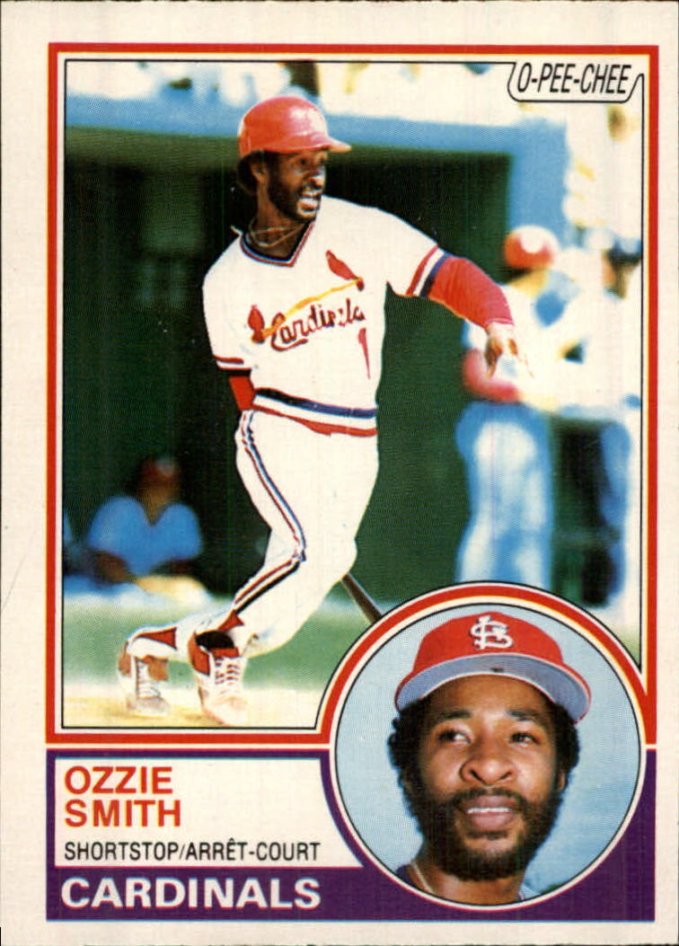 1983 O-Pee-Chee #14 Ozzie Smith