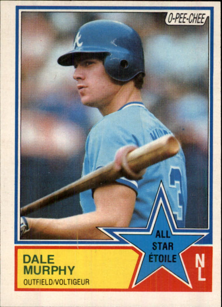 1983 O-Pee-Chee #21 Dale Murphy AS