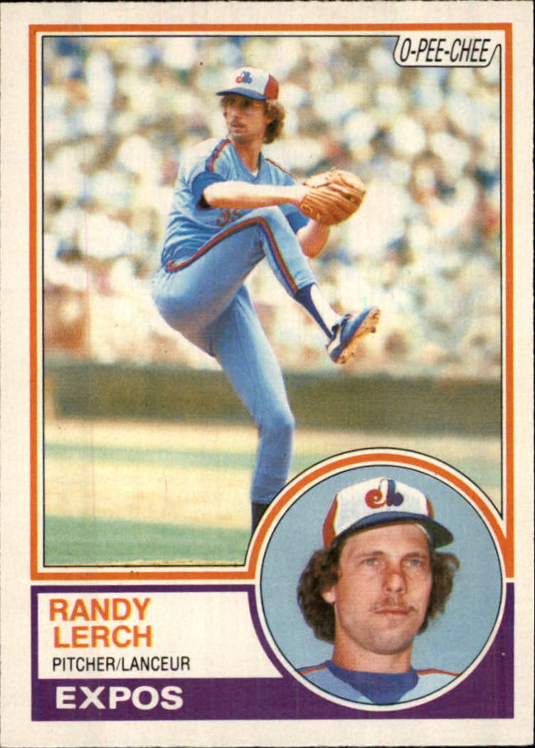 1983 O-Pee-Chee #22 Randy Lerch