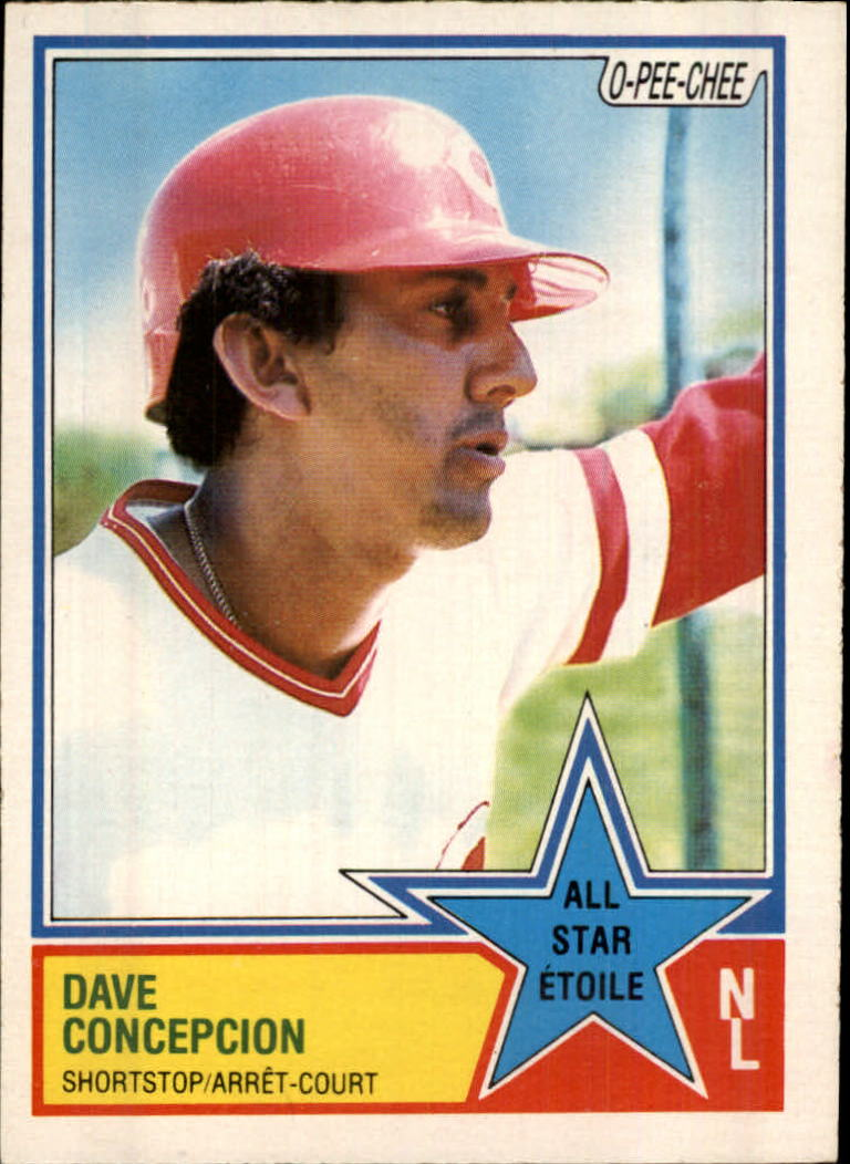 1983 O-Pee-Chee #32 Dave Concepcion AS