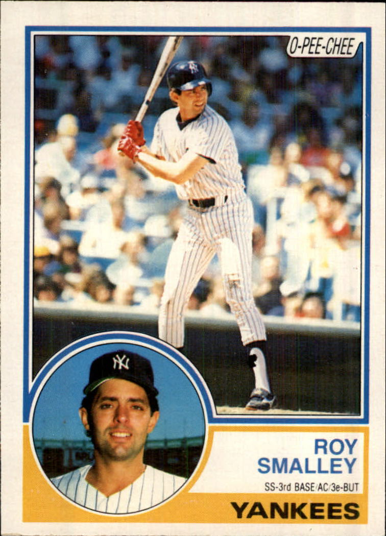 1983 O-Pee-Chee #38 Roy Smalley