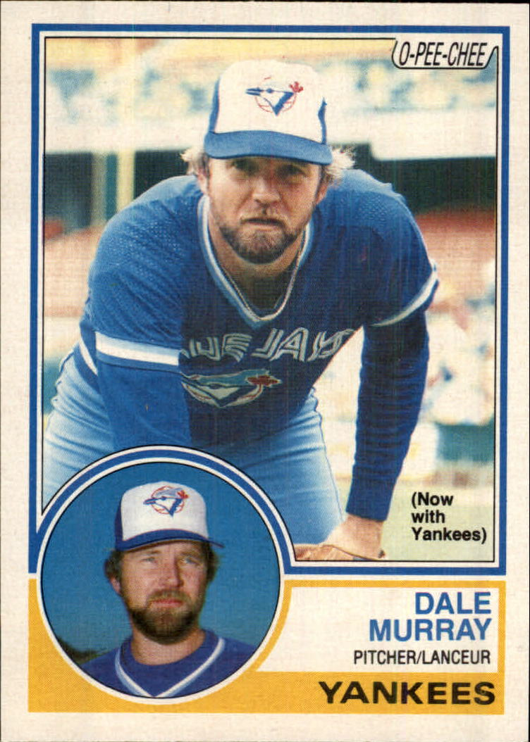 1983 O-Pee-Chee #42 Dale Murray/Now with Yankees