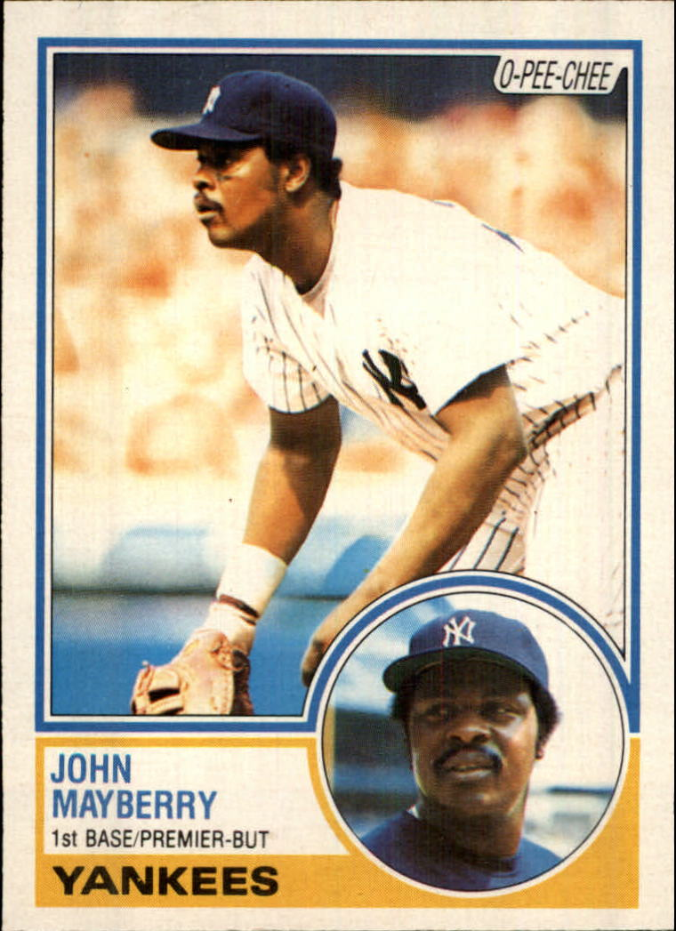 1983 O-Pee-Chee #45 John Mayberry