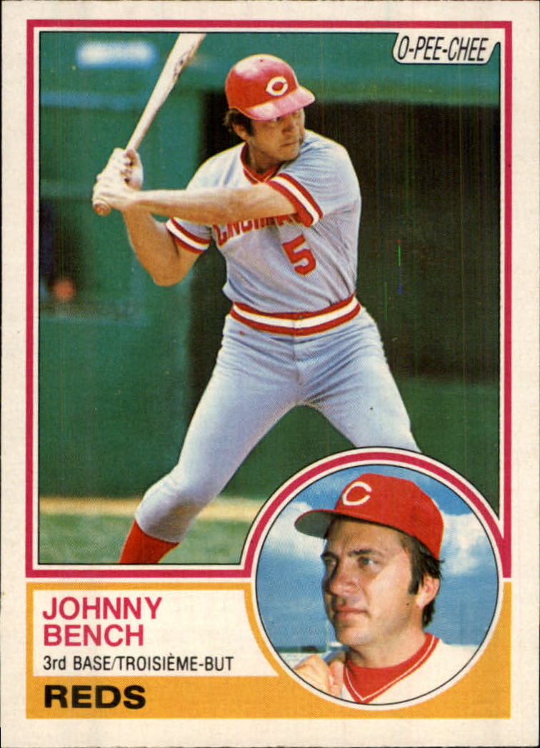 1983 O-Pee-Chee #60 Johnny Bench