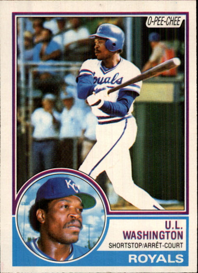 1983 O-Pee-Chee #67 U.L. Washington