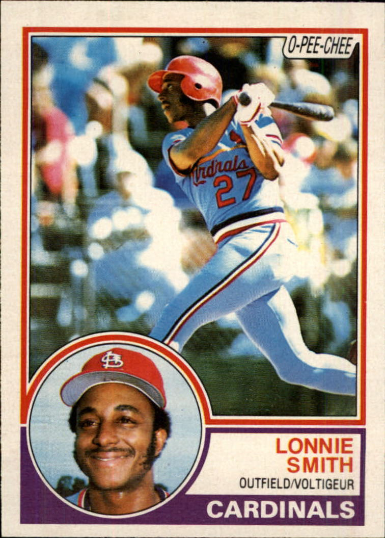 1983 O-Pee-Chee #273 Lonnie Smith