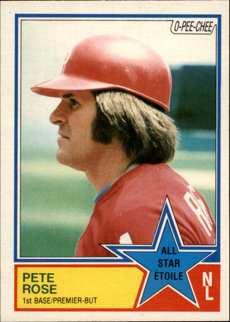 1983 O-Pee-Chee #373 Pete Rose AS