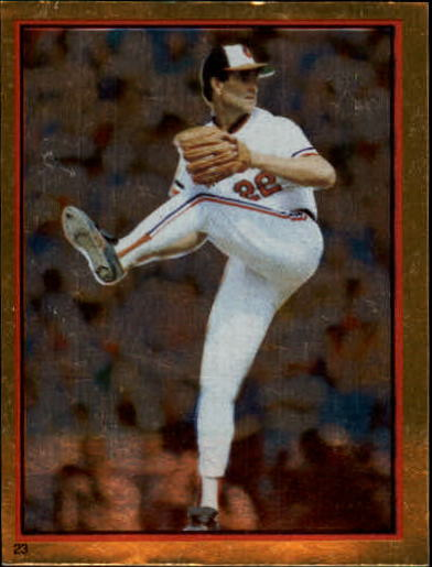1983 Topps Stickers #23 Jim Palmer FOIL