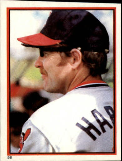 1983 Topps Stickers #58 Toby Harrah