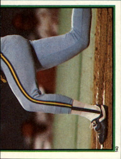 1983 Topps Stickers #140 Paul Molitor RB