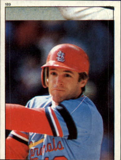 1983 Topps Stickers #189 Dane Iorg WS