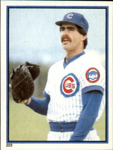 1983 Topps Stickers #223 Bill Buckner