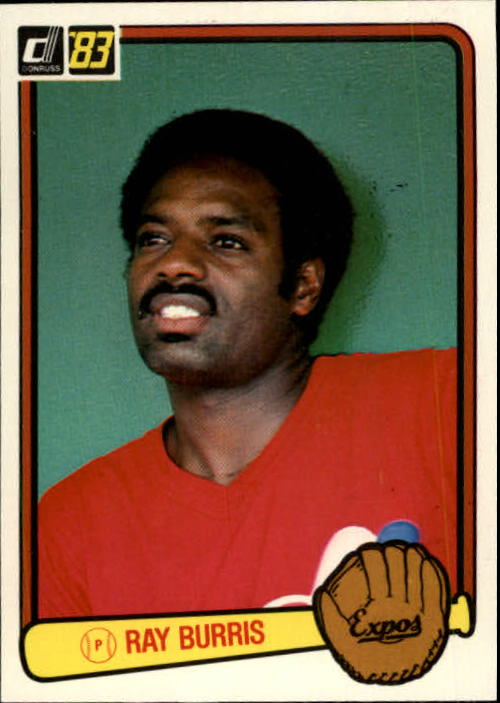 1983 Donruss #36 Ray Burris