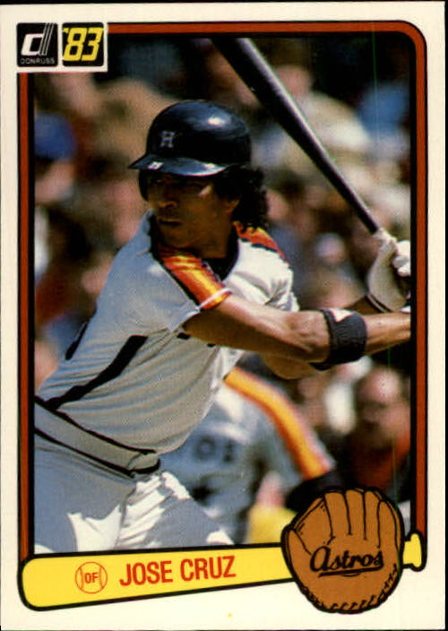 1983 Donruss #41 Jose Cruz