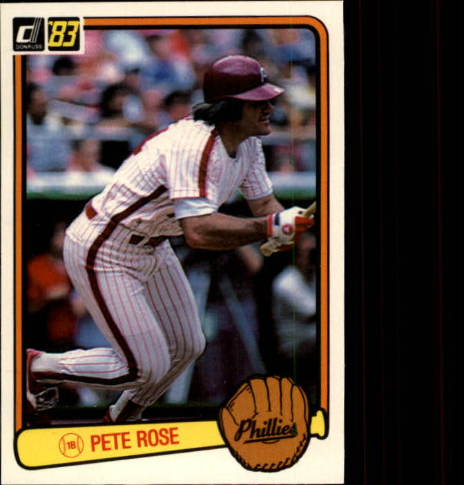 1983 Donruss #42 Pete Rose