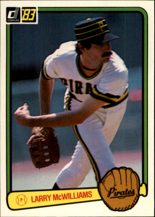 1983 Donruss #45 Larry McWilliams