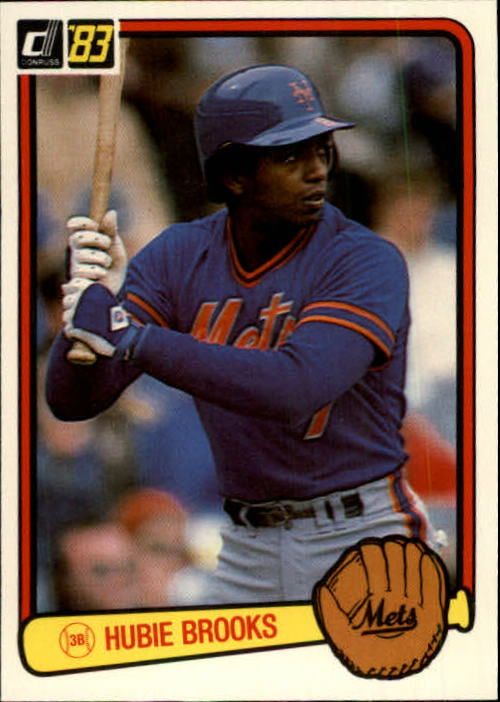 1983 Donruss #49 Hubie Brooks