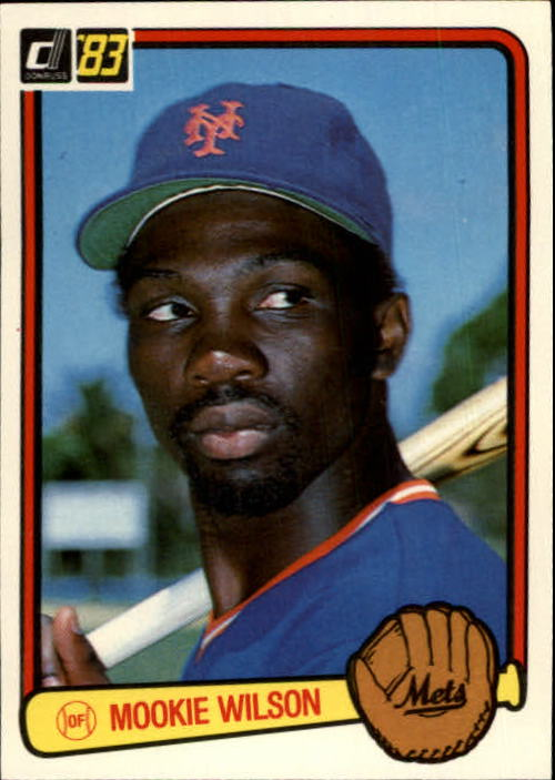 1983 Donruss #56 Mookie Wilson