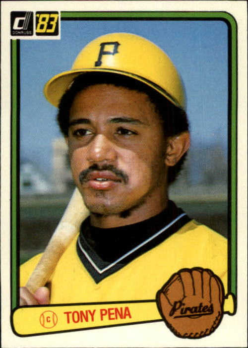 1983 Donruss #59 Tony Pena