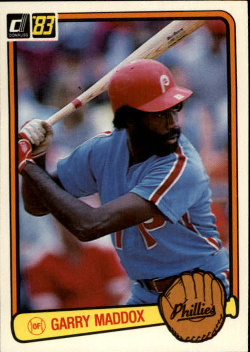 1983 Donruss #63 Garry Maddox