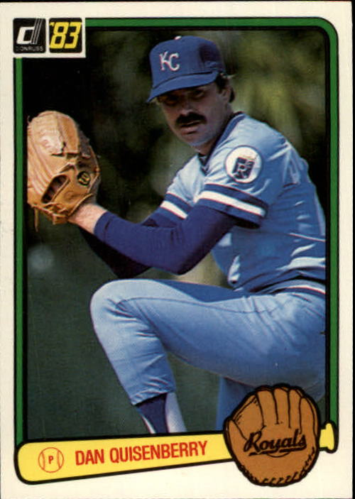 1983 Donruss #70 Dan Quisenberry