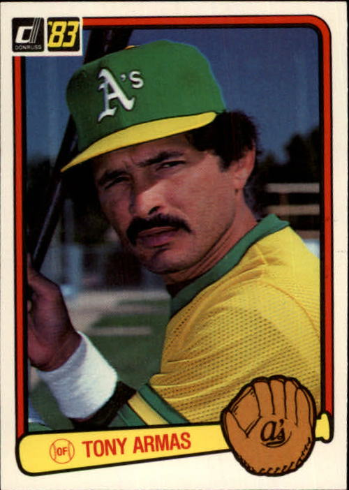 1983 Donruss #71 Tony Armas