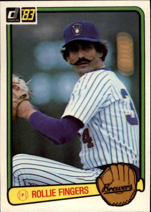 1983 Donruss #78 Rollie Fingers