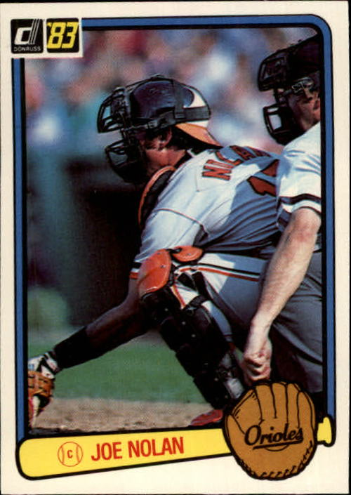 1983 Donruss #79 Joe Nolan