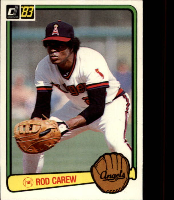 1983 Donruss #90 Rod Carew
