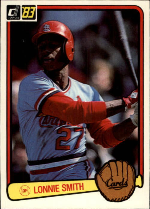 1983 Donruss #91 Lonnie Smith