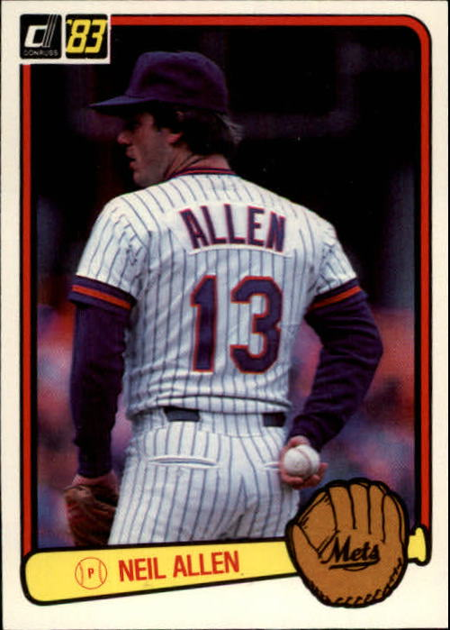 1983 Donruss #98 Neil Allen