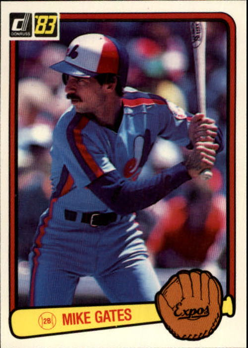 1983 Donruss #114 Mike Gates