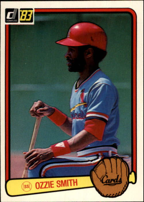 1983 Donruss #120 Ozzie Smith
