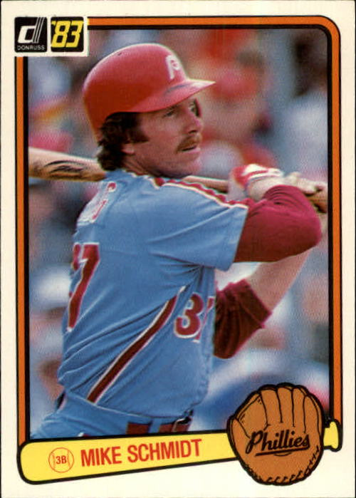 1983 Donruss #168 Mike Schmidt