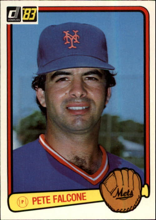 1983 Donruss #182 Pete Falcone
