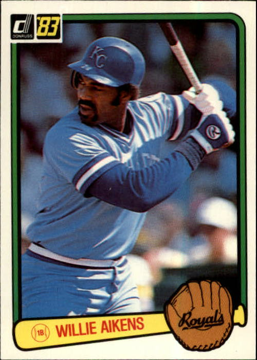 1983 Donruss #212 Willie Aikens