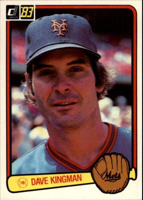 1983 Donruss #301 Dave Kingman
