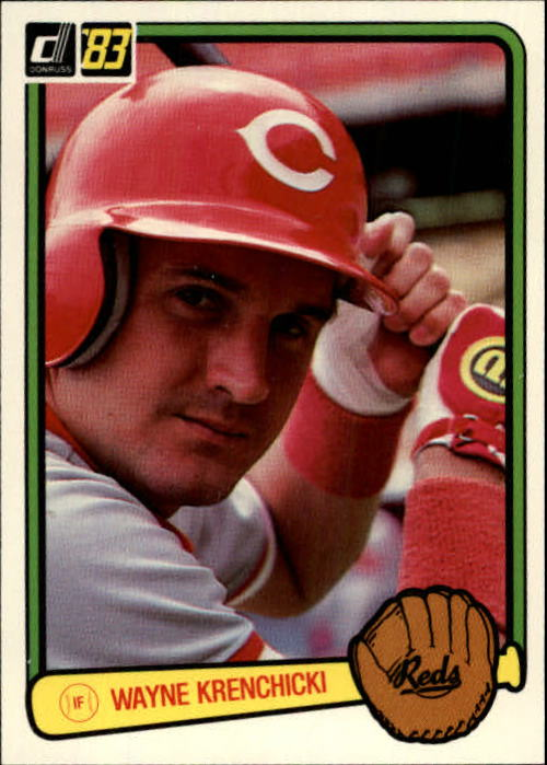 1983 Donruss #314 Wayne Krenchicki