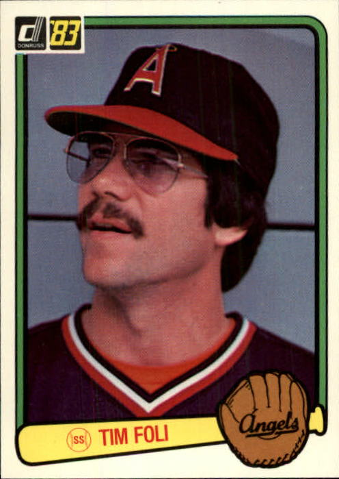 1983 Donruss #342 Tim Foli