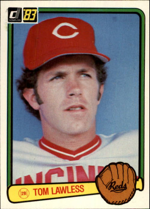 1983 Donruss #400 Tom Lawless