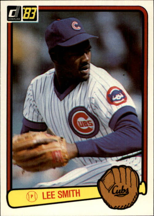 1983 Donruss #403 Lee Smith