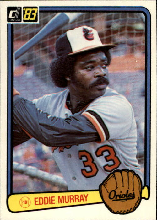 1983 Donruss #405 Eddie Murray